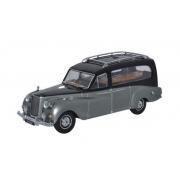 Miniatura Austin Princess Hearse Black and Silver 1/43 Oxford