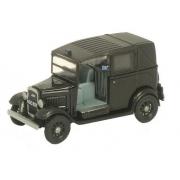 Miniatura Austin Taxi Black 1/76 Oxford