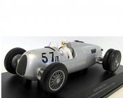 Miniatura Auto Union Typ C #57 H. Stuck Winner Shelsley Walsh Hillclimb 1936 1/18 Minichamps
