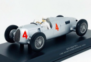 Miniatura Auto Union Type C A. Varzi 2nd Place GP Monaco 1936 1/18 Minichamps