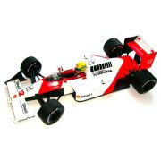 Miniatura Ayrton Senna McLaren MP4/4 - World Champion 1998 1/12 Minichamps
