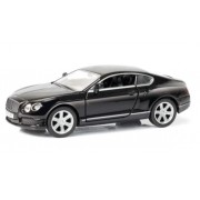 Miniatura Bentley Continental GT V8 Preto Luz e Som 1/32 Hot Wheels