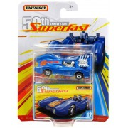 Miniatura Blue Shark 12 50th Anniversary Superfast 1/64 Matchbox