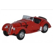 Miniatura BMW 328 Red 1/76 Oxford