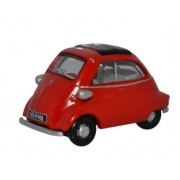 Miniatura BMW Isetta Signal Red 1/76 Oxford