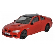 Miniatura BMW M3 Coupe Red 1/76 Oxford