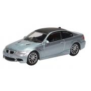 Miniatura BMW M3 E92 Blue 1/76 Oxford