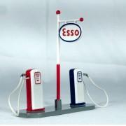 Miniatura Bomba de Gasolina Posto Esso 1/43 Dinky Toys