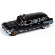 Miniatura Cadillac 1959 Ambulance Ghostbusters Caça Fantasmas 1/64 Johnny Lightning