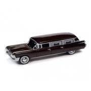 Miniatura Cadillac Hearse 1959 1/64 Johnny Lightning