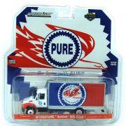 Miniatura Caminhão Baú International DuraStar Pure HD Trucks 1/64 Greenlight