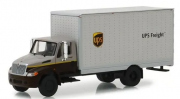 Miniatura Caminhão Bau International DuraStar UPS HD Trucks Serie 15 1/64 Greenlight