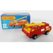 Miniatura Caminhão Bombeiro Blaze Buster N°22 Superfast 1/64 Matchbox