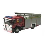 Miniatura Caminhão Cleveland Rescue Bombeiro 1/76 Oxford
