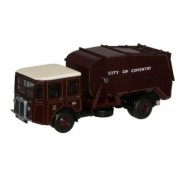 Miniatura Caminhão Coventry Shelvoke & Drewry Dustcart 1/76 Oxford