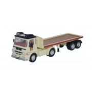 Miniatura Caminhão ERV LV Flatbed Trailer 1/76 Oxford