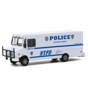 Miniatura Caminhão Highway Patrol Step Van Polícia New York 1/64 Greenlight