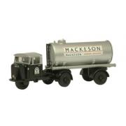 Miniatura Caminhão Mackeson Mechanical Horse Tank 1/76 Oxford