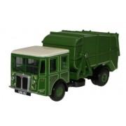 Miniatura Caminhão Manchester Corp Shelvoke & Drewry Dustcart 1/76 Oxford