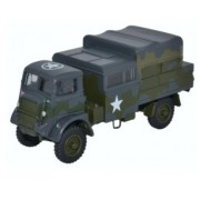 Miniatura Caminhão Militar Bedford QLB Light AA Reg.12 Corps Germany 1945 1/76 Oxford
