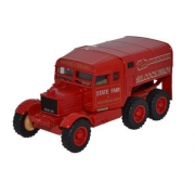 Miniatura Caminhão Scammel Pioneer Silcook Bros 1/76 Oxford