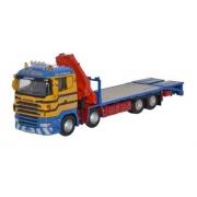 Miniatura Caminhão Scania Crane Lorry D R Macleod 1/76 Oxford