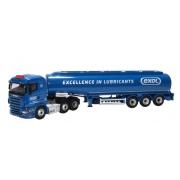 Miniatura Caminhão Scania Highline Tanker Exol 1/76 Oxford