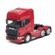 Miniatura Caminhão Scania V8 R730 6x4 1/32 Welly