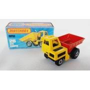 Miniatura Caminhão Site Dumper N°26 Superfast 1/64 Matchbox