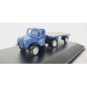 Miniatura Caminhão Trailer Bedford Flatbed 1/76 Oxford
