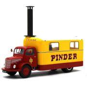 Miniatura Caminhão Unic ZU 51 Kitchen Truck Pinder Circus 1952 1/43 Direkt Collections