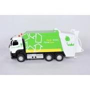 Miniatura Caminhão Volvo FM Lixo Luz e Som 1/50 California Action