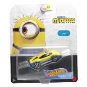 Miniatura Carl Minions Character Cars 1/64 Hot Wheels