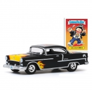 Miniatura Chevrolet Bel Air 1955 Garbage Pail Kids 1/64 Greenlight