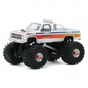 Miniatura Chevrolet C-20 1984 Big Foot Monster Truck 1/64 Greenlight