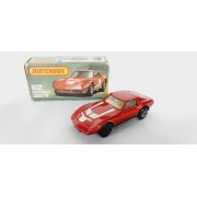 Miniatura Chevrolet Corvette N°62 Superfast 1/64 Matchbox