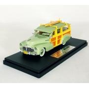 Miniatura Chevrolet Fleetmaster Wagon 1948 Green 1/43 Goldvarg Collection