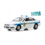 Miniatura Chevrolet Impala Police Cruiser 2010 Hawaii Five-0 1/43 Greenlight