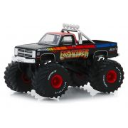 Miniatura Chevrolet K20 Silverado 1987 Monster Truck 1/64 Greenlight
