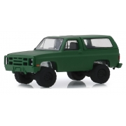 Miniatura Chevrolet K5 Blazer 1988 Utility Cargo 1/64 Greenlight
