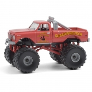 Miniatura Chevrolet K-10 1968 Big Foot Monster Truck 1/64 Greenlight