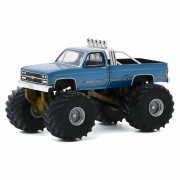Miniatura Chevrolet K-10 1977 Big Foot Monster Truck 1/64 Greenlight