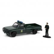 Miniatura Chevrolet M1008 1986 Policia Florida 1/64 Greenlight