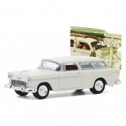 Miniatura Chevrolet Nomad 1955 Norman Rockwell 1/64 Greenlight