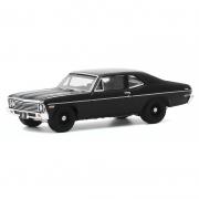 Miniatura Chevrolet Nova 1968 Black Bandit 1/64 Greenlight