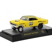 Miniatura Chevrolet Nova Gasser 1967 Mooneyes 1/64 M2