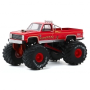 Miniatura Chevrolet Silverado 1986 Big Foot Monster Truck 1/64 Greenlight