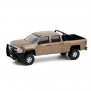 Miniatura Chevrolet Silverado 2017 Polícia Hot Pursuit 1/64 Greenlight