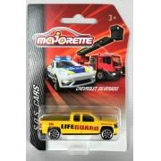 Miniatura Chevrolet Silverado S.O.S Cars 1/64 Majorette