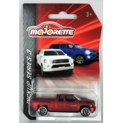 Miniatura Chevrolet Silverado Vermelho Fosco PickUp Series 1/64 Majorette